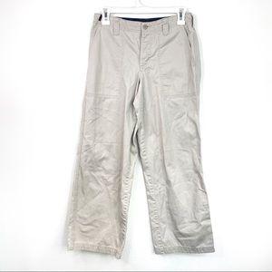 Vtg RALPH Ralph Lauren Chino Khaki Wide Leg Pants